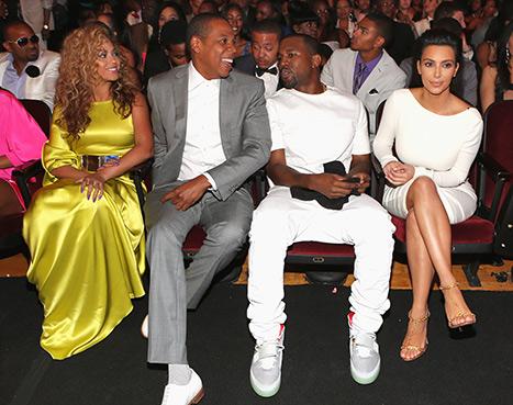 BET Awards Beyonce Kim Kardashian Kanye