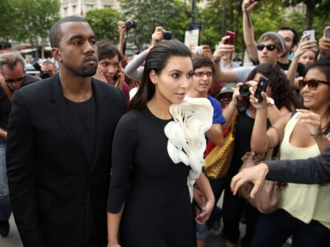 Kim+Kardashian+Kanye+West+Fashion-week