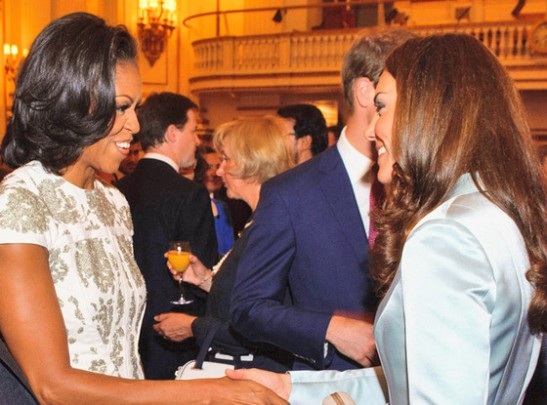 michelle obama kate middleton olympics