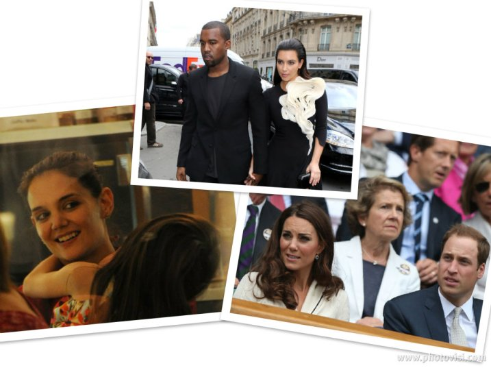 Celebrities spotted 2012