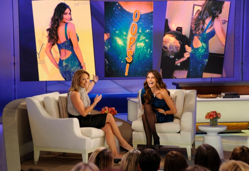 Sofia Vergara on Katie Couric